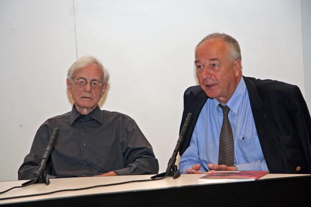 Walter Urbach im Gespräch mit Dieter Ronte