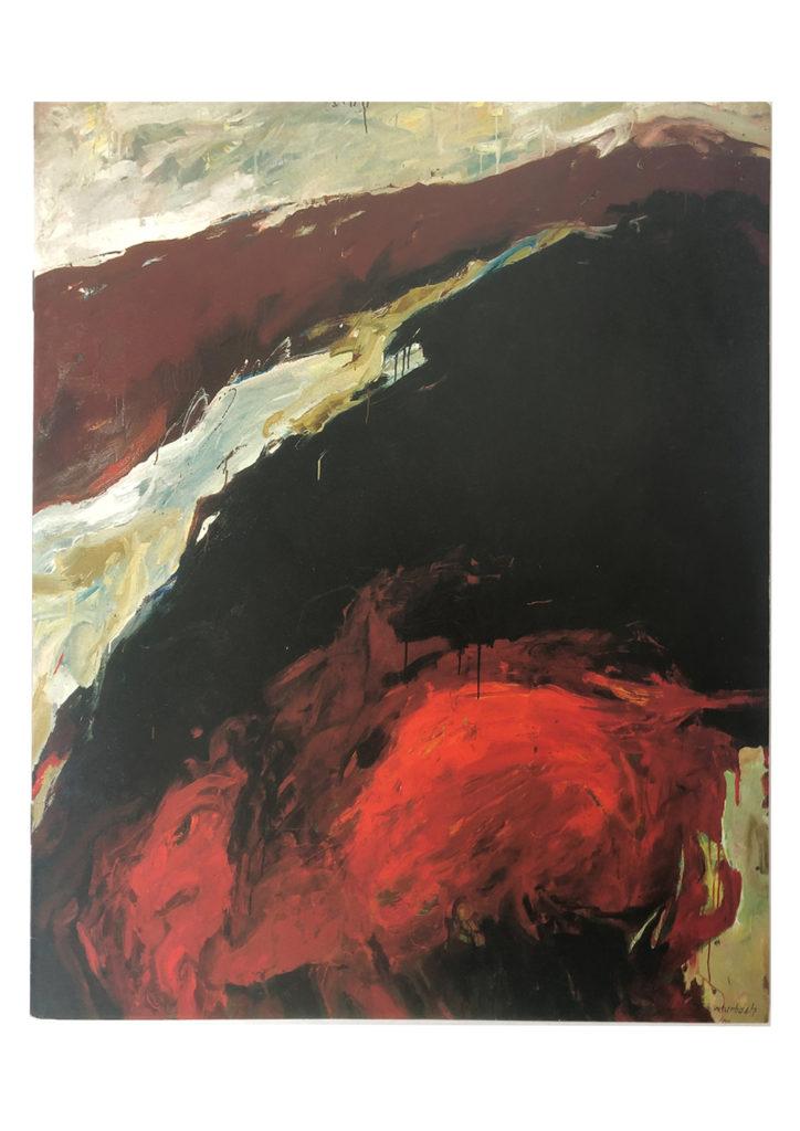 Walter Urbach | Mohn (Ätna Serie)<br />Herausgegeben anlässlich der Ausstellung in der Galerie Siegfried Blau, Düsseldorf, 1999<br />Mit Beiträgen von Manfred Schneckenburger (Kurator), Dieter Ronte u.a.<br /><br /><br />